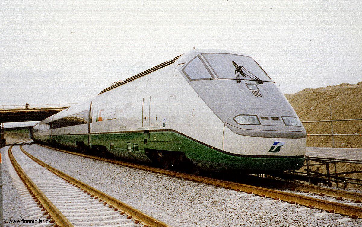 1.8.2010 11:00 FS ETR 500 als Eurostar Italia (ES*) aus Milano ...