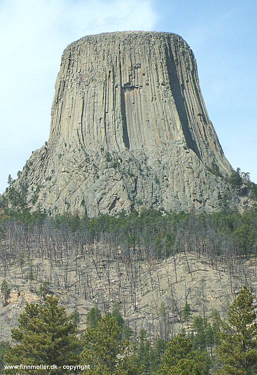 Devils Tower Wy >> Finn's train and travel page : Travel : USA : Wyoming : Devils Tower